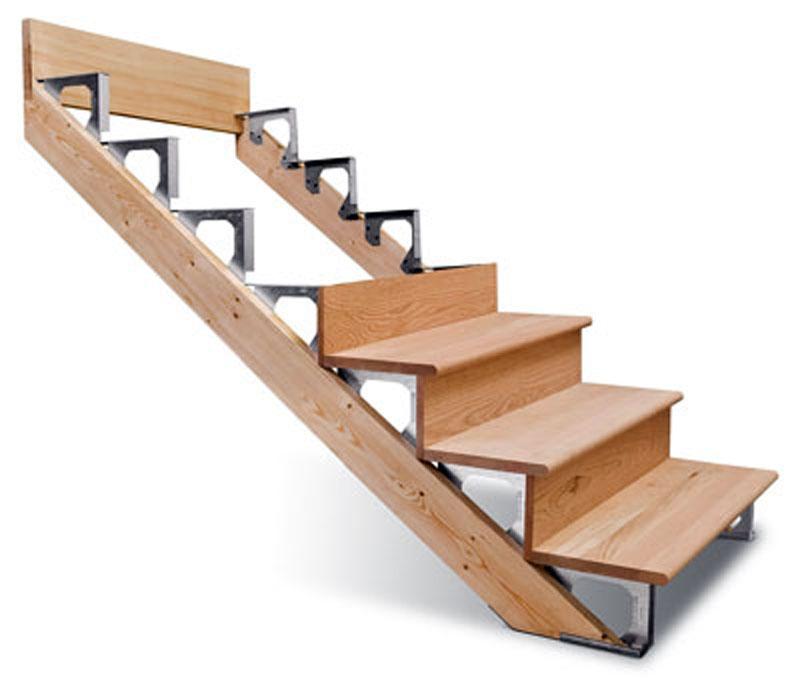 Лестница на косоурах деревянная своими руками