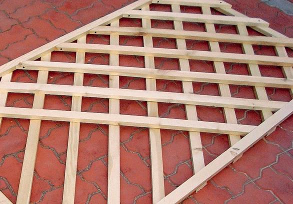 Деревянная решетка своими руками пошаговая инструкция